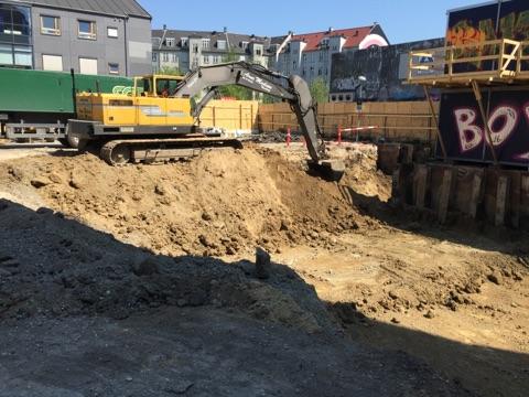 Søllerødgade udgravning
